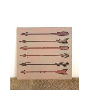 Wood Wall Art, Arrows ✨💘✨